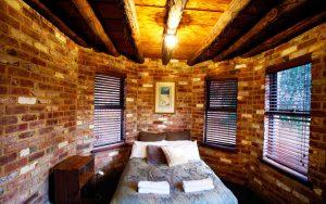 Upstairs bedroom photo of beachfront holiday accommodation Dunsborough.