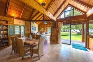 Photo inside luxury beachfront accommodation Margaret River region