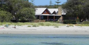 Luxury beachfront Dunsborough accommodation location
