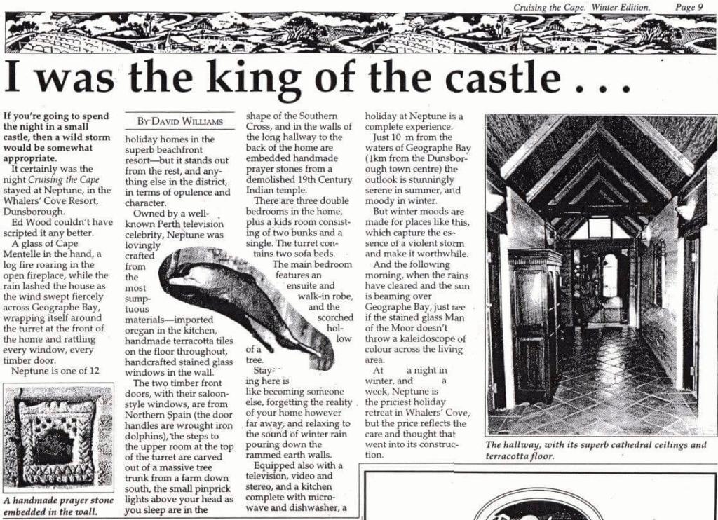 Beach House Dunsborough news article
